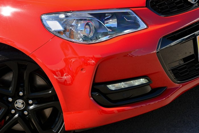 2017 HOLDEN COMMODORE SS V REDLINE VF II MY17 RED HOT