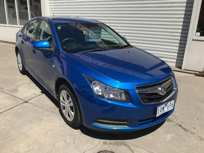 2010 HOLDEN CRUZE CD JG Blue
