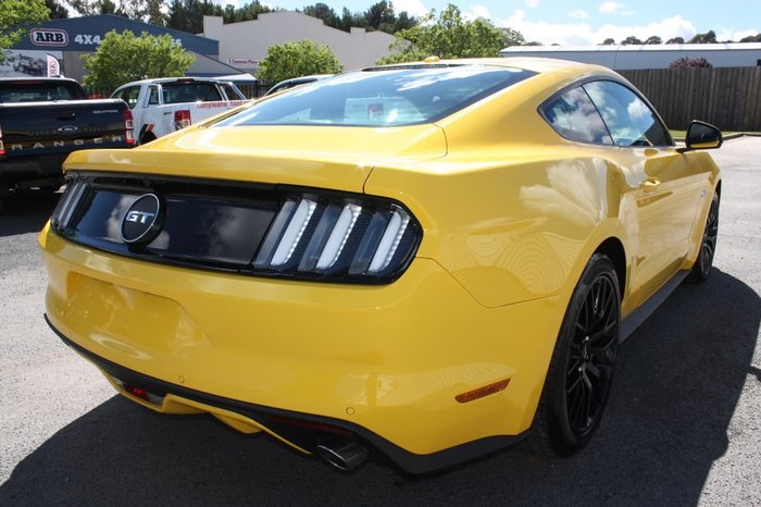 2017 FORD MUSTANG GT FM Yellow