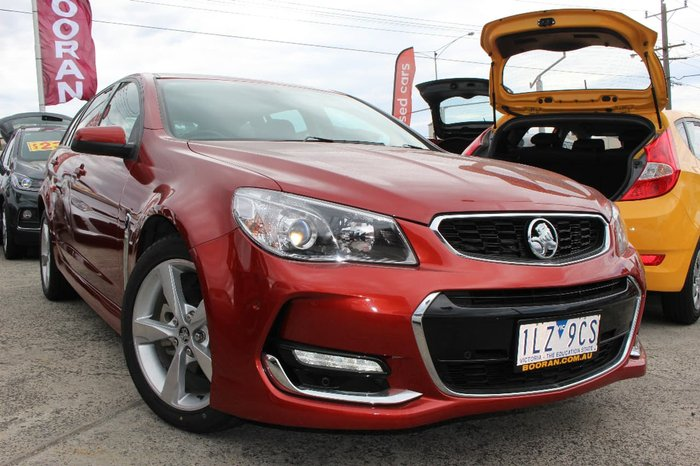 2016 HOLDEN COMMODORE SV6 VF Series II Red