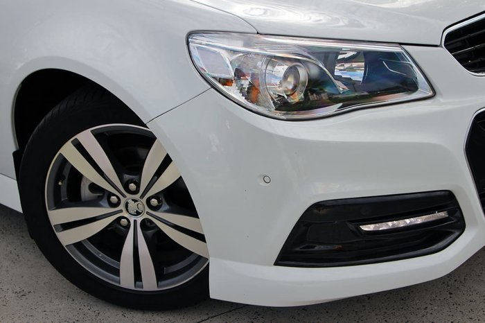 2015 HOLDEN COMMODORE SV6 VF White