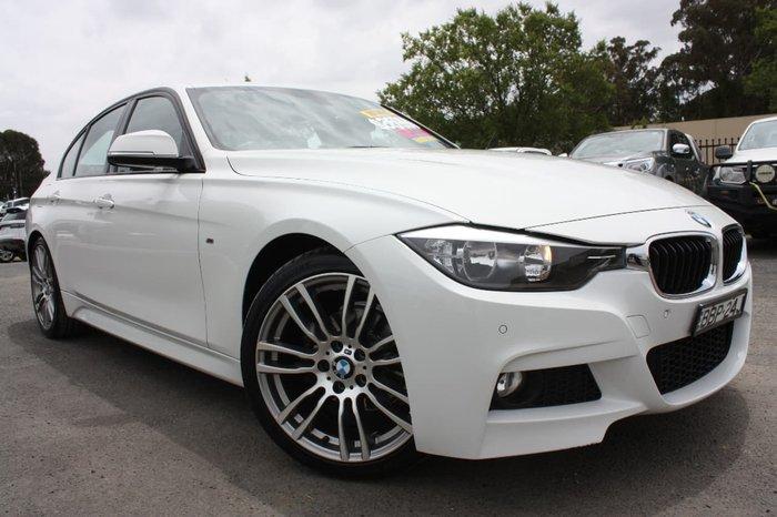 2013 BMW 320I M SPORT F34 White