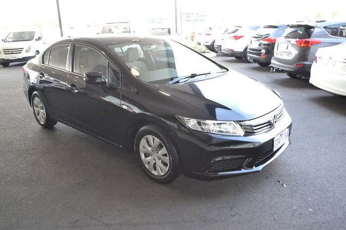 2012 HONDA CIVIC VTI 9th Gen Ser II Black