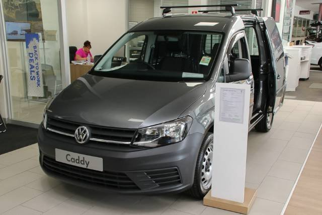 2018 VOLKSWAGEN CADDY TSI220 SWB 2KN MY18 INDIUM GREY