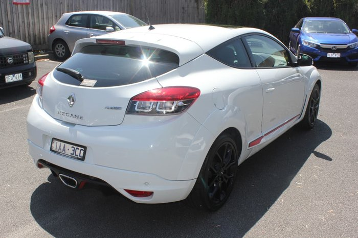 2013 RENAULT MEGANE R.S. 265 CUP+ III D95 White
