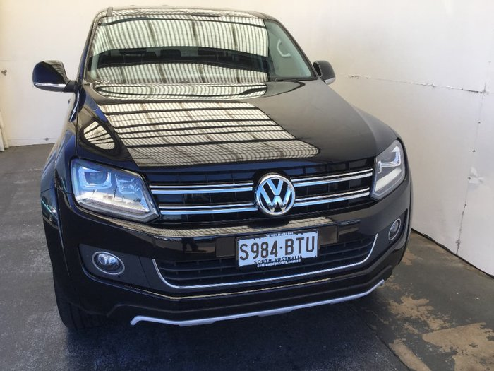 2016 VOLKSWAGEN AMAROK TDI550 ULTIMATE 2H Black