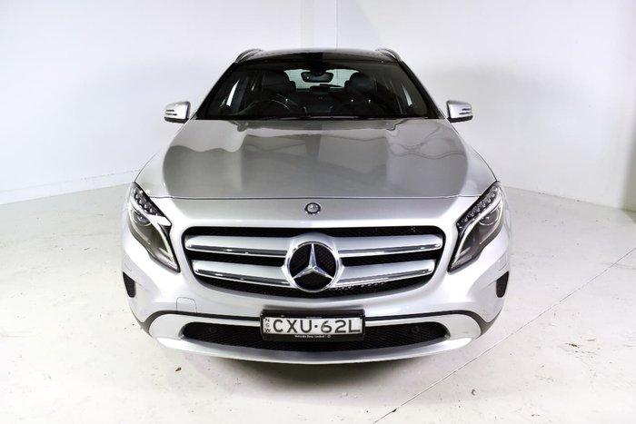 2014 MERCEDES-BENZ GLA200 CDI X156 Silver