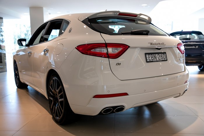2017 Maserati Levante GranSport M161 MY18 4X4 On Demand BIANCO