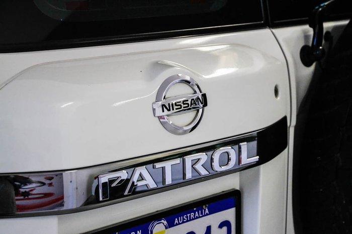 2012 NISSAN PATROL ST GU 7 White