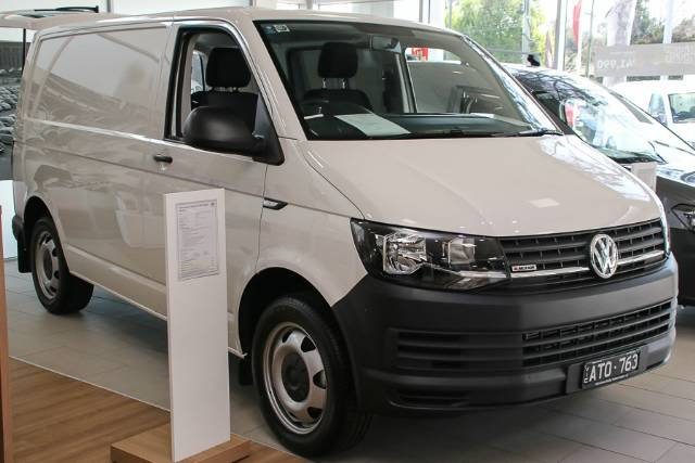 2018 VOLKSWAGEN TRANSPORTER TDI400 SWB 4MOTION T6 MY18 CANDY WHITE