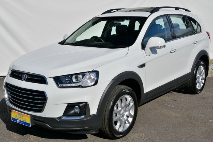 2017 HOLDEN CAPTIVA ACTIVE CG MY16 SUMMIT WHITE