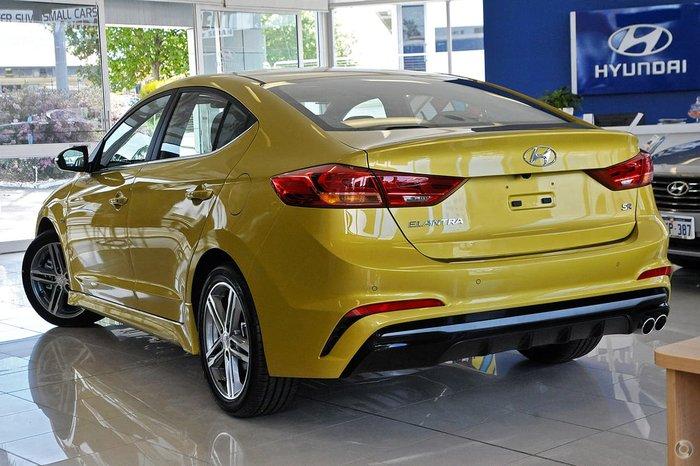 2017 HYUNDAI ELANTRA ELITE AD Yellow