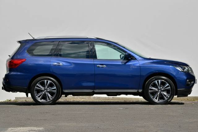 2017 NISSAN PATHFINDER TI R52 SERIES II MY17 BLUE