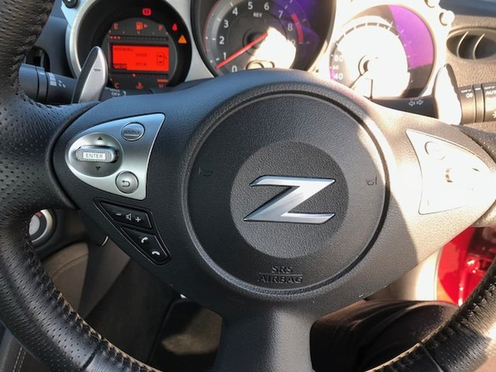 2017 NISSAN 370Z Z34 Red