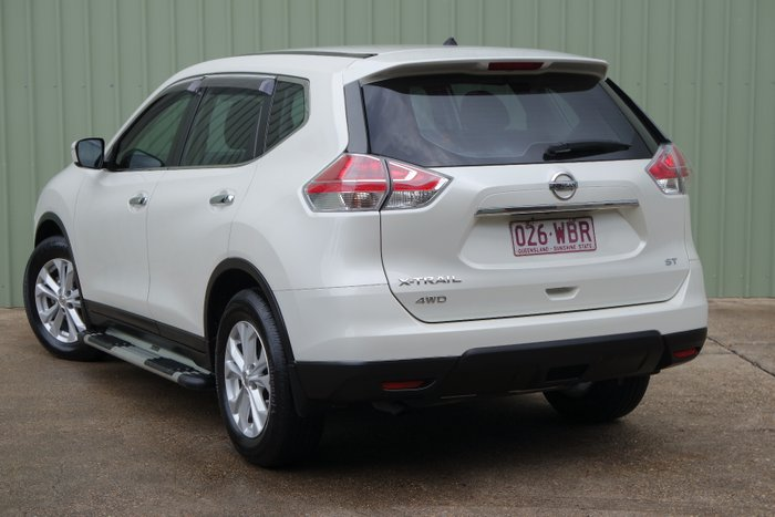 2015 Nissan X-TRAIL ST T32 4X4 On Demand WHITE