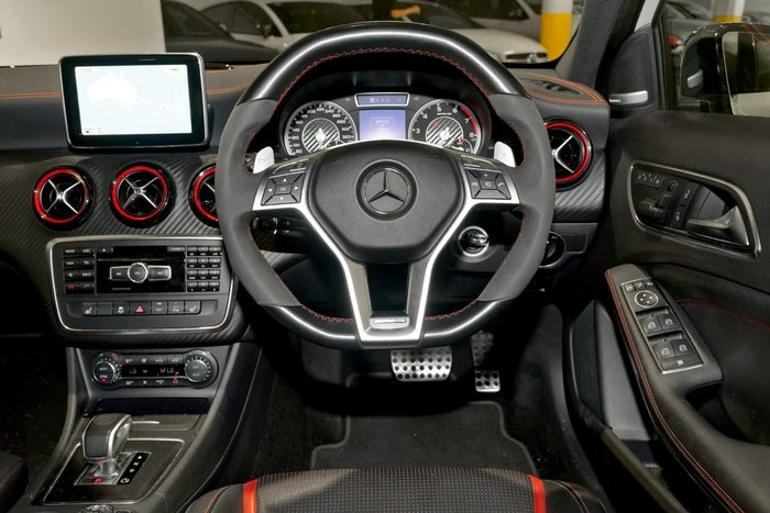 2013 MERCEDES-BENZ A45 AMG W176 White