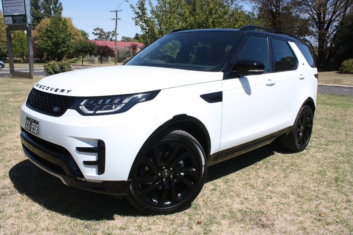 2017 LAND ROVER DISCOVERY TD6 HSE Series 5 White