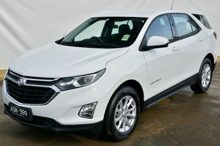 2018 HOLDEN EQUINOX LS EQ MY18 SUMMIT WHITE