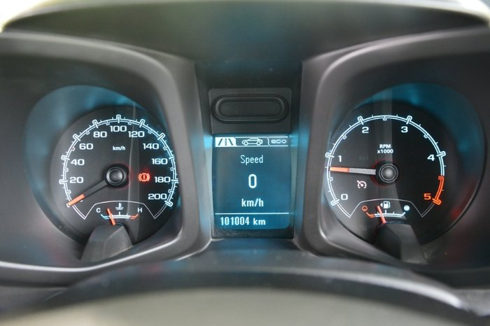 2014 HOLDEN COLORADO DX SINGLE CAB RG MY14 WHITE