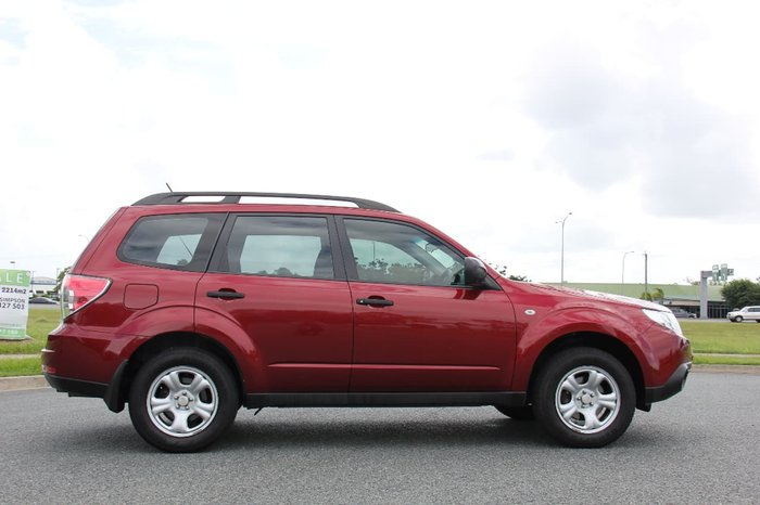 2010 SUBARU FORESTER X S3 Red