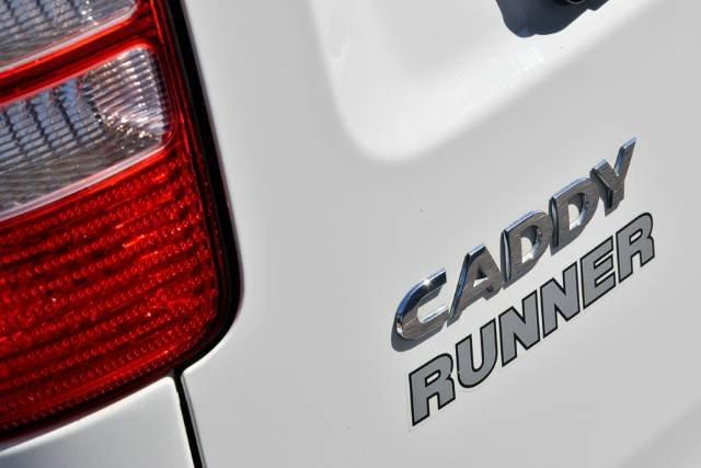 2013 VOLKSWAGEN CADDY TSI160 RUNNER SE 2KN MY13 CANDY WHITE