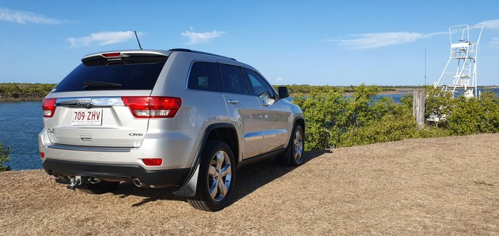 2012 JEEP GRAND CHEROKEE Limited WK MY2012 Limited WAG 5dr SA 5sp 677kg 3.0DT SILVER