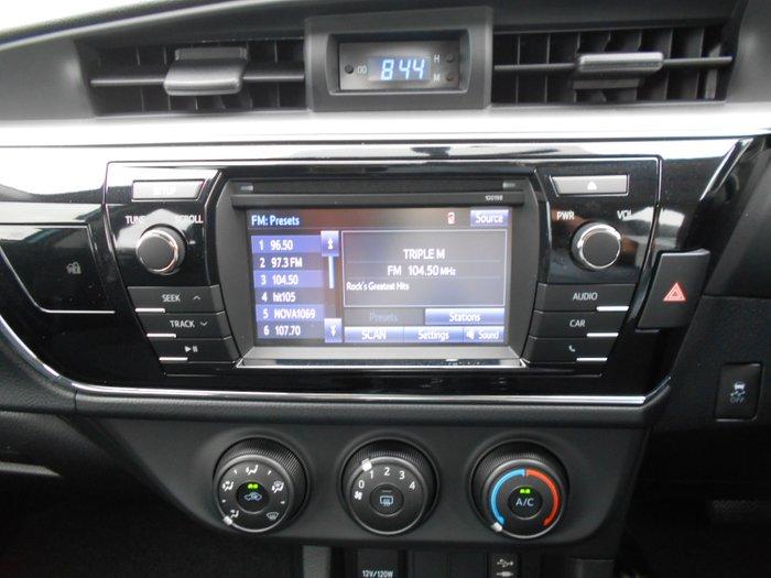 2016 Toyota Corolla Ascent ZRE172R BLUE