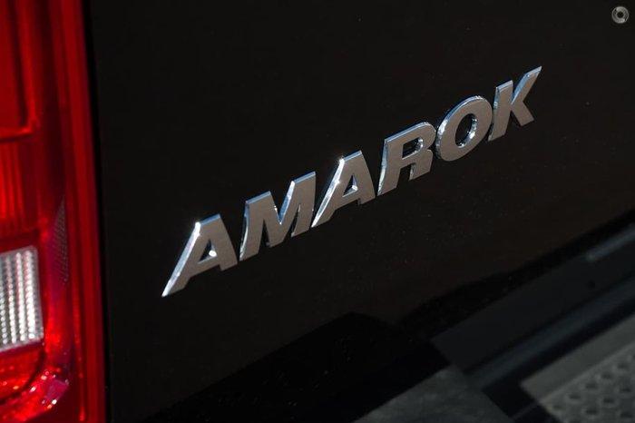 2018 VOLKSWAGEN AMAROK TDI420 CORE 2H Black