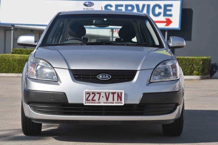 2008 KIA RIO EX JB Silver