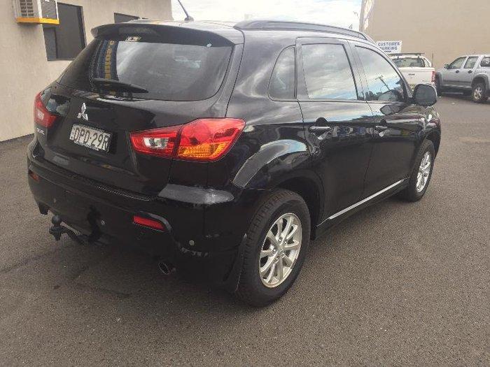 2011 Mitsubishi ASX XA MY11 BLACK