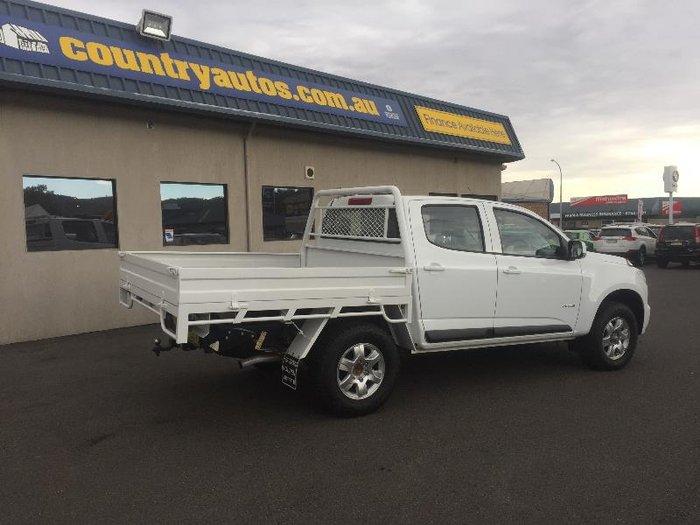 2014 Holden Colorado LT RG MY14 WHITE