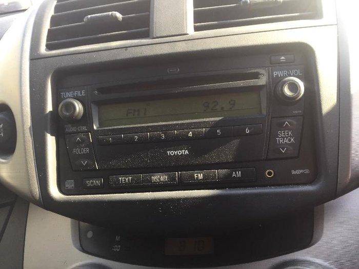 2008 Toyota RAV4 CV ACA33R MY08 BLACK