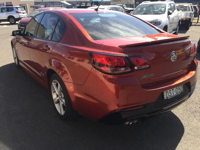 2016 Holden Commodore SS VF II MY16 RED