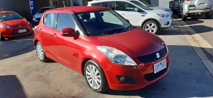 2013 Suzuki Swift GLX FZ Red