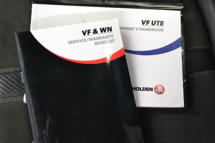 2015 HOLDEN UTE SV6 VF Series II Silver