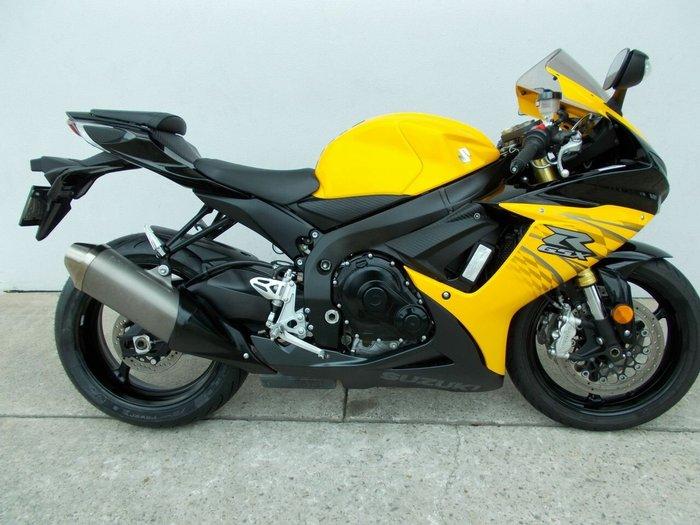 2012 Suzuki GSX-R750 Yellow