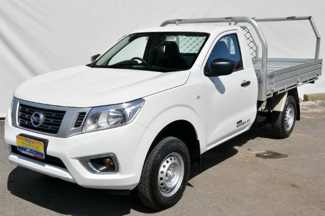 2016 NISSAN NAVARA DX SINGLE CAB D23 POLAR WHITE