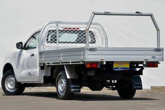 2016 NISSAN NAVARA DX SINGLE CAB D23 POLAR WHITE