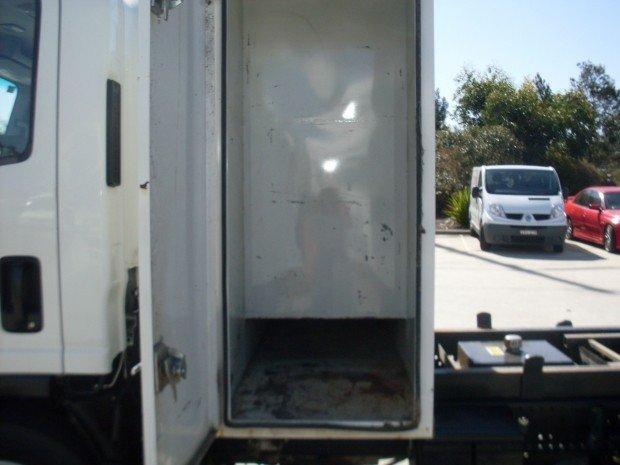 2011 Isuzu NQR450 TIPPER TOOL BOX WHITE