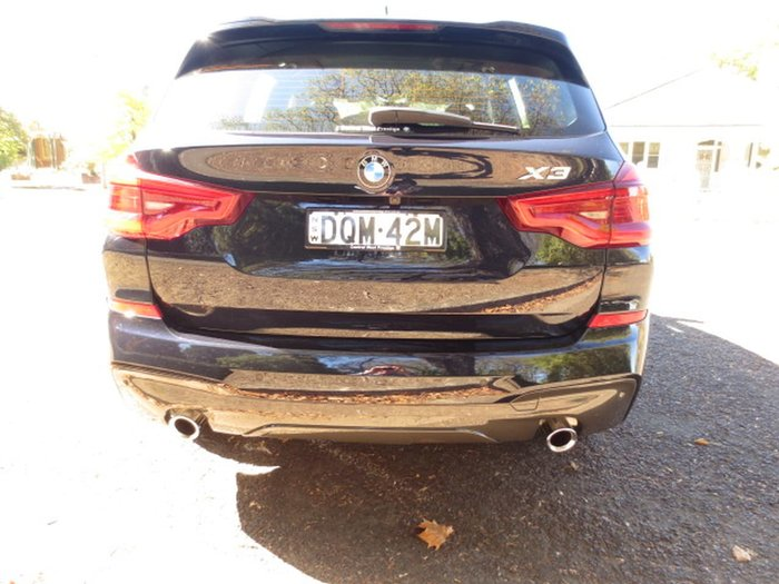 2017 BMW X3 XDRIVE30D G01 Black