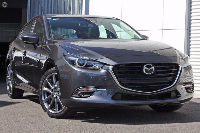 2017 MAZDA 3 SP25 ASTINA BN Series Grey
