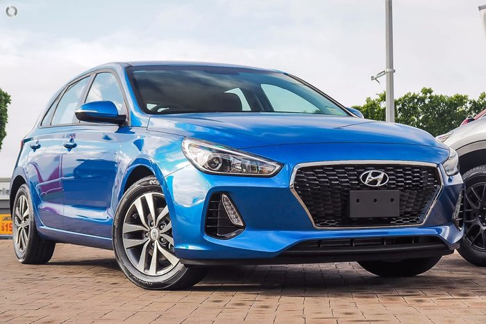 2018 HYUNDAI I30 Active PD Blue