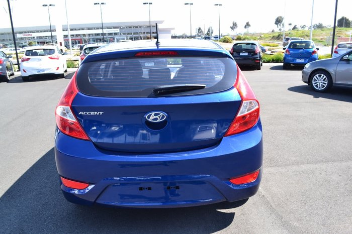 2016 HYUNDAI ACCENT ACTIVE RB4 Blue