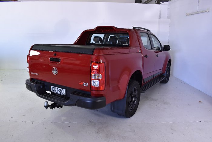 2015 HOLDEN COLORADO Z71 RG Red