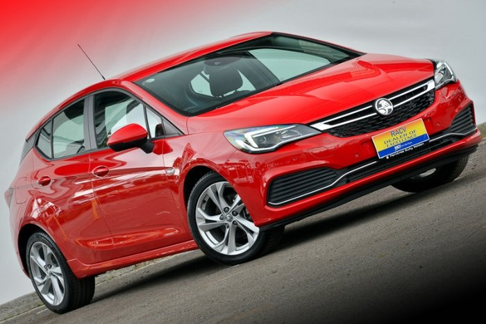 2017 HOLDEN ASTRA RS BK MY17 ABSOLUTE RED