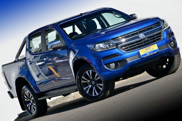 2017 HOLDEN COLORADO LTZ DUAL CAB RG MY18 POWER BLUE