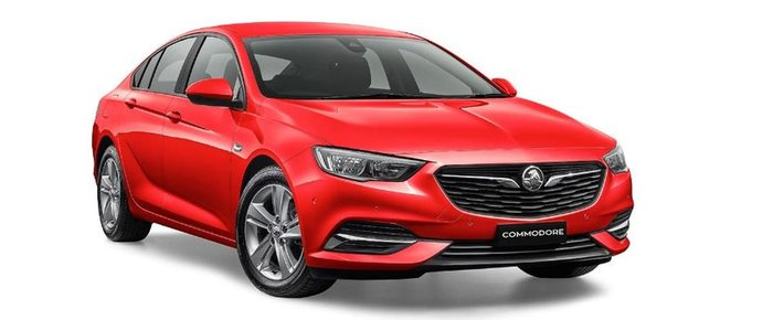 2018 HOLDEN COMMODORE LT ZB Red