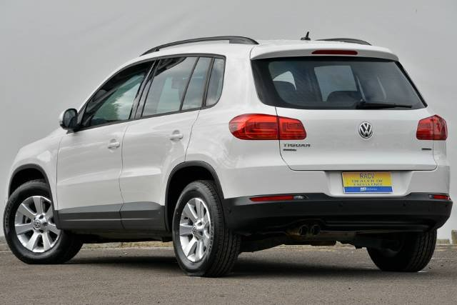 2013 VOLKSWAGEN TIGUAN 103TDI PACIFIC 5N MY14 CANDY WHITE