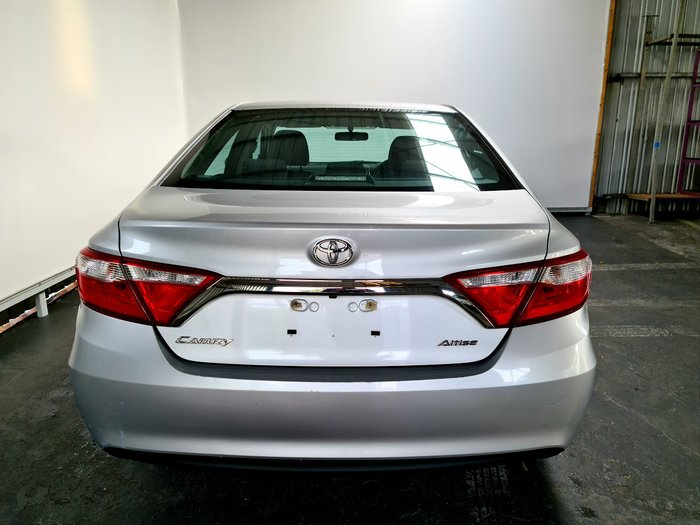 2017 Toyota Camry Altise ASV50R SILVER