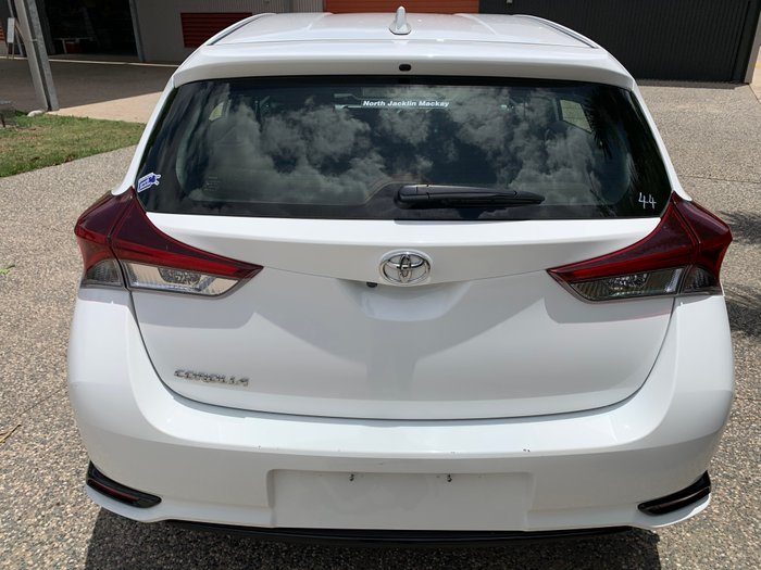 2018 Toyota Corolla Ascent ZRE182R WHITE